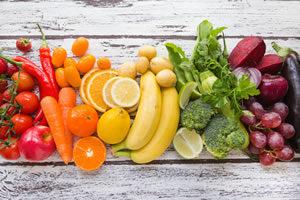Cores de Alimentos e Seus Benefícios